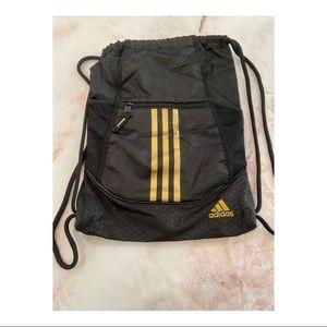 Adidas Triple Stripe Drawstring Backpack